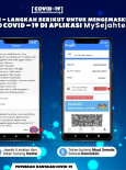 Mengemaskini Status Risiko COVID-19 Di Aplikasi MySejahtera -2