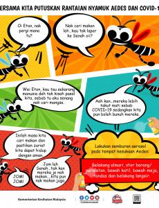 Bersama Kita Putuskan Rantaian Nyamuk Aedes dan COVID-19 (Siri 3)