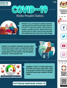 COVID-19 : Risiko Pesakit Dialisis (1)