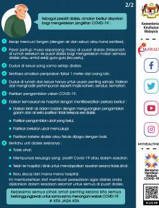 COVID-19 : Risiko Pesakit Dialisis (2)