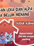 Jangan Leka dan Alpa :  Duduk Rumah