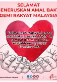 Selamat Meneruskan Amal Bakti Demi Rakyat Malaysia
