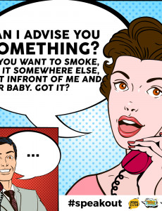 Speak Out : Can I Advise You Something?