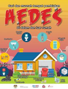 Cari Dan Musnah Tempat Pembiakan AEDES Di Dalam Dan Luar Rumah