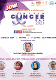 Acara Pelancaran World Cancer Day 2021
